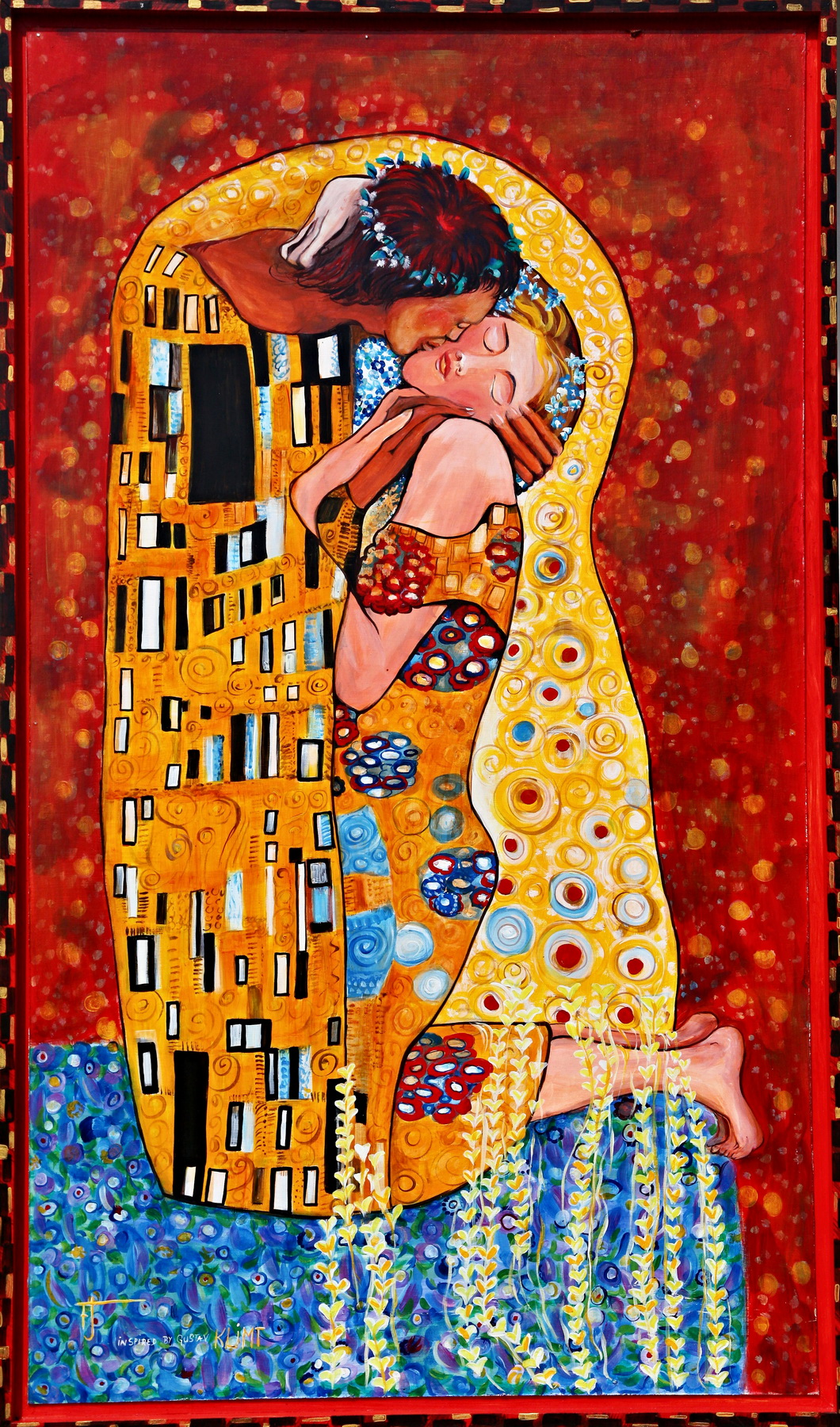 Kiss Gustave Klimt