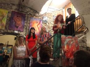 Výstava ŽENY MALUJÍ ŽENY, v Galerii U Zlatého kohouta v Praze 1, od 5 června do 28 června 2019