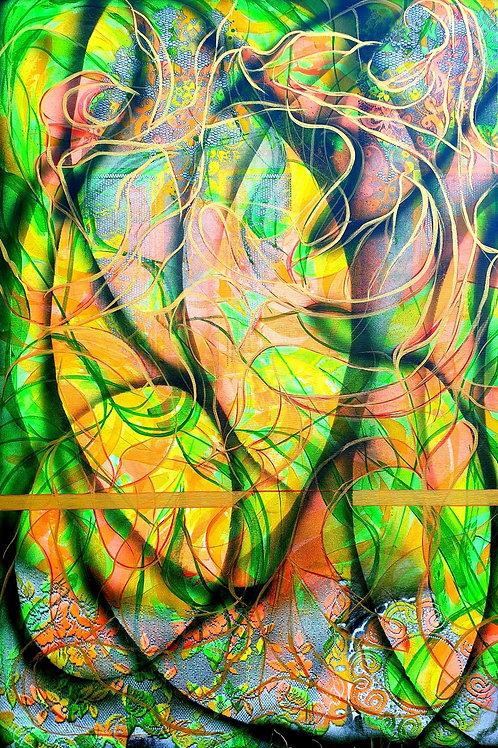 "ENERGICKÉ  – STREET  ART  3"" 2019 triptich  N891"