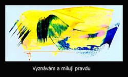 Energetický obraz se vzkazem