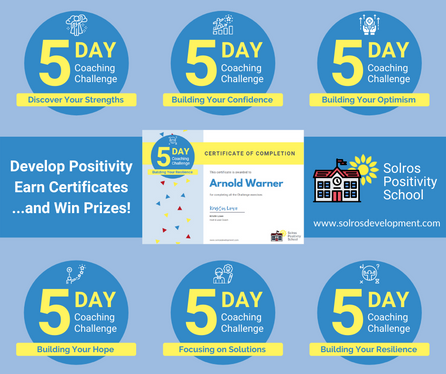 Building Positivity Competencies Through 5-Day Challenges