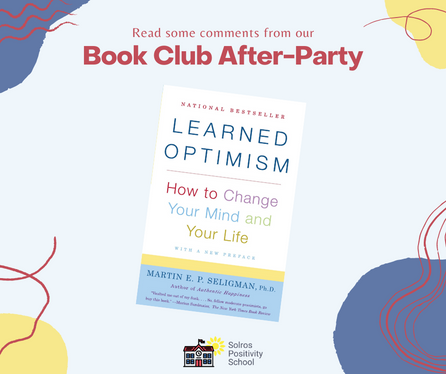 🤗 Comments from Our Learned Optimism Book Club