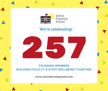 Positivity School Celebrates 257 Founding Members