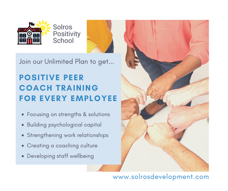 Positive Peer Coach Training for Every Employee