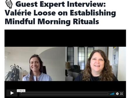 Mindful Morning Rituals