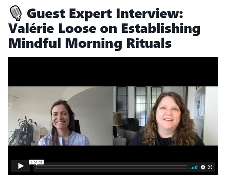 Mindful Morning Rituals