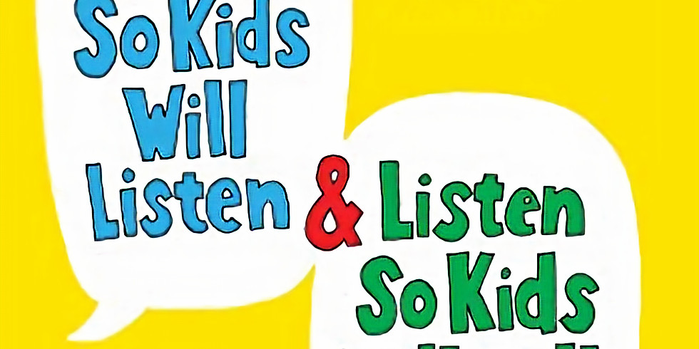 Book Club: How to Talk So Kids Will Listen and Listen So Kids Will Talk