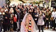 Hudson's Bay Pop-Up Wedding