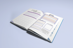 Inside monthly planner