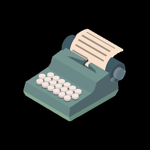 Feature Script (120+ pgs)