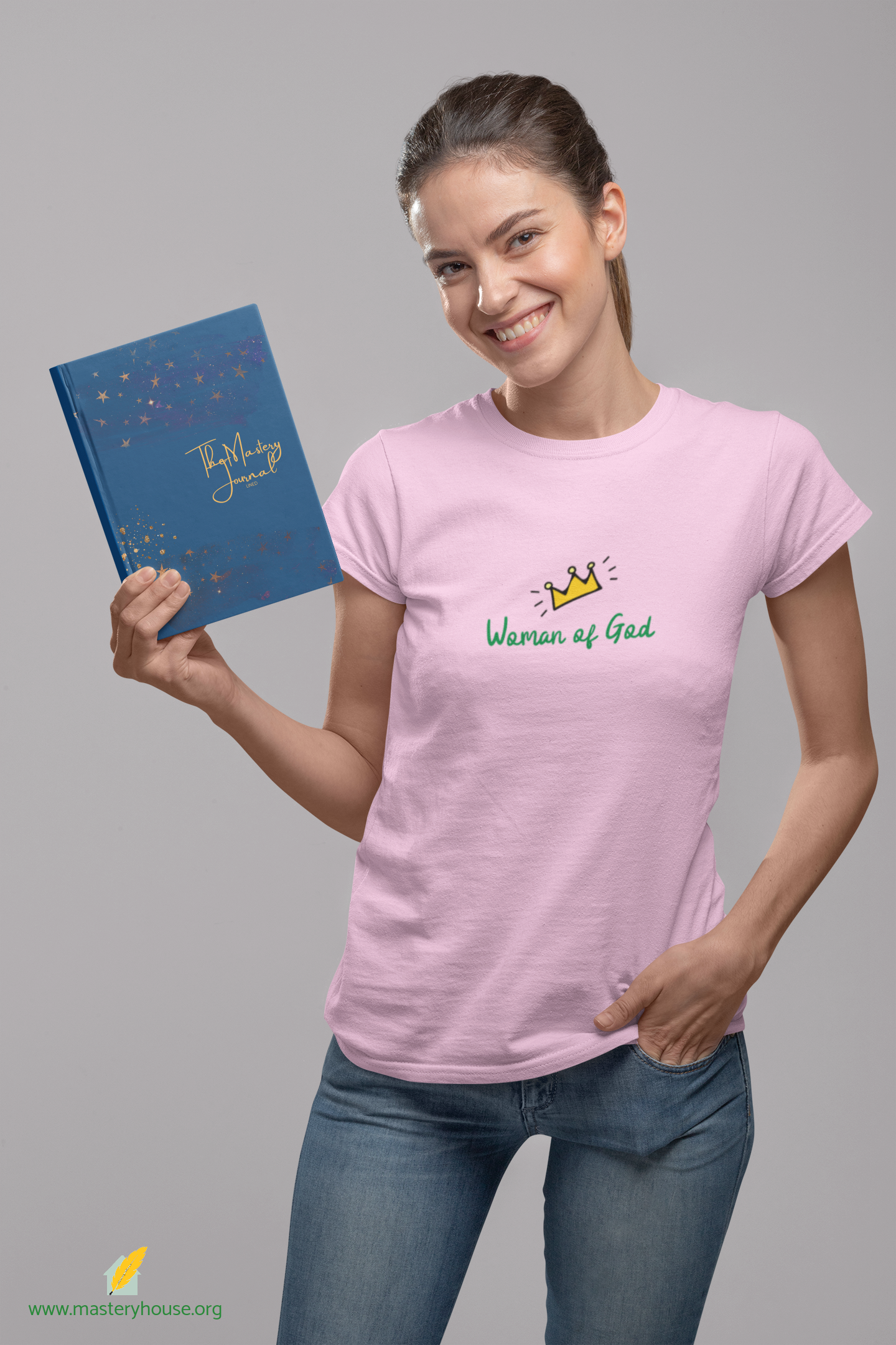 Shirt and Book MockUp