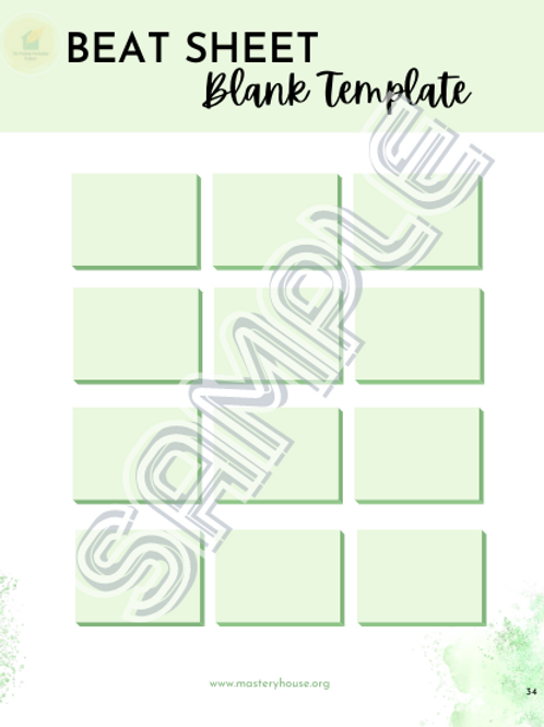 Beat Sheet Template