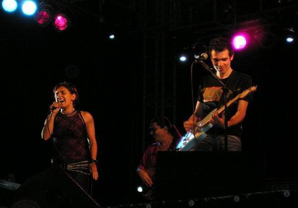 Filipe Santos e Rosete Caixinha