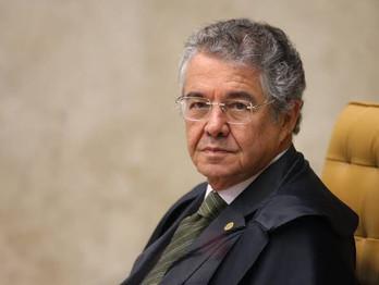 Ministro Marco Aurélio se aposenta no STF