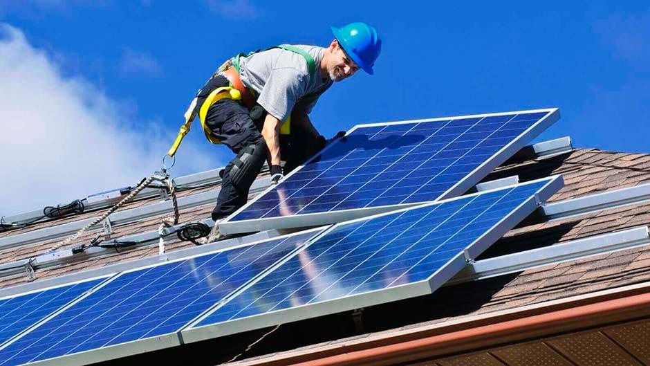 Instalação painel solar residencial