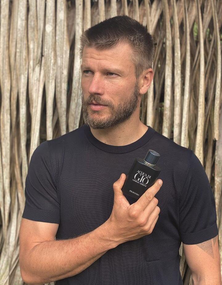 Rodrigo Hilbert perfume Armani