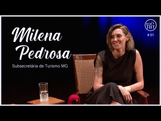 Milena Pedrosa no Programa TBT