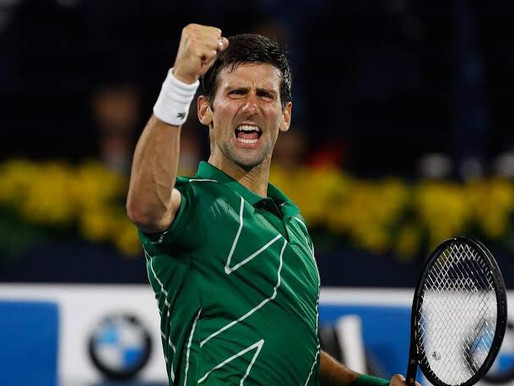Djokovic se torna o número 1 da história
