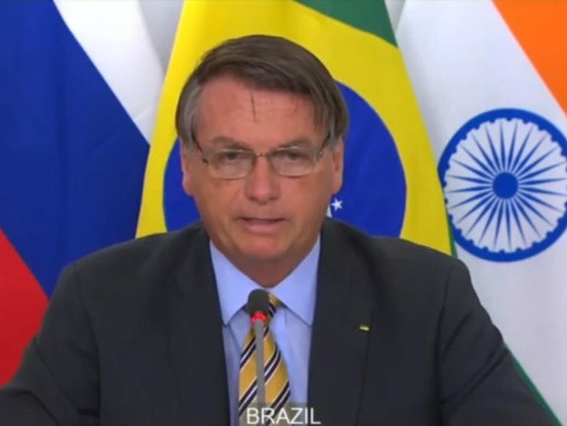 Presidente do Brasil discursa na cúpula do Brics