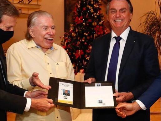 Correios: Selo em homenagem ao Silvio Santos