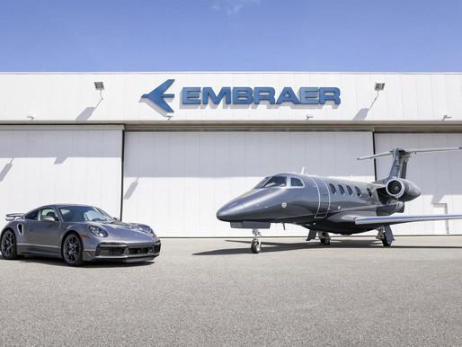 Embraer e Porsche lançam o projeto Duet