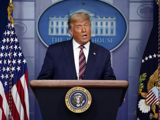 Donald Trump denuncia fraude nas eleições
