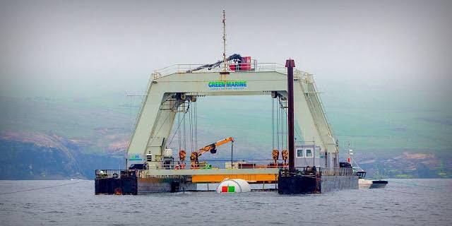 data center submerso
