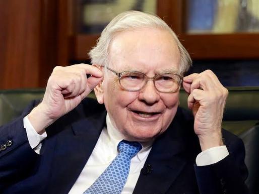 Buffett conclui doação de 50% de seu patrimônio