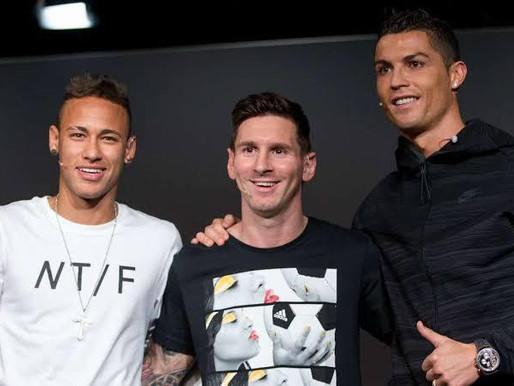 Messi lidera ranking de maior salário no futebol