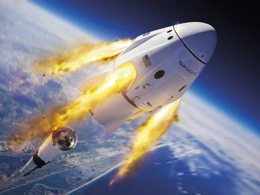 Mais um bilionário no espaço esta semana   SpaceX