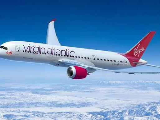 Virgin Atlantic entra com pedido de falência nos EUA