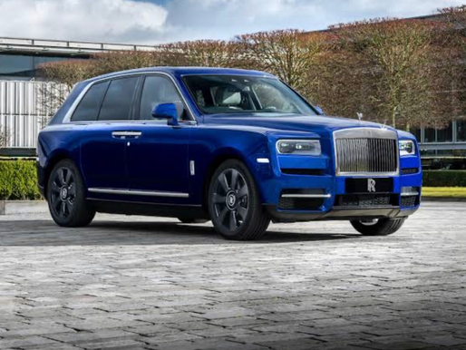 Rolls Royce lança o Cullinan, o 1° SUV da marca. Tudo nele é exclusivo.