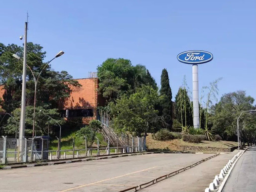 Antiga fábrica da Ford vira centro logístico
