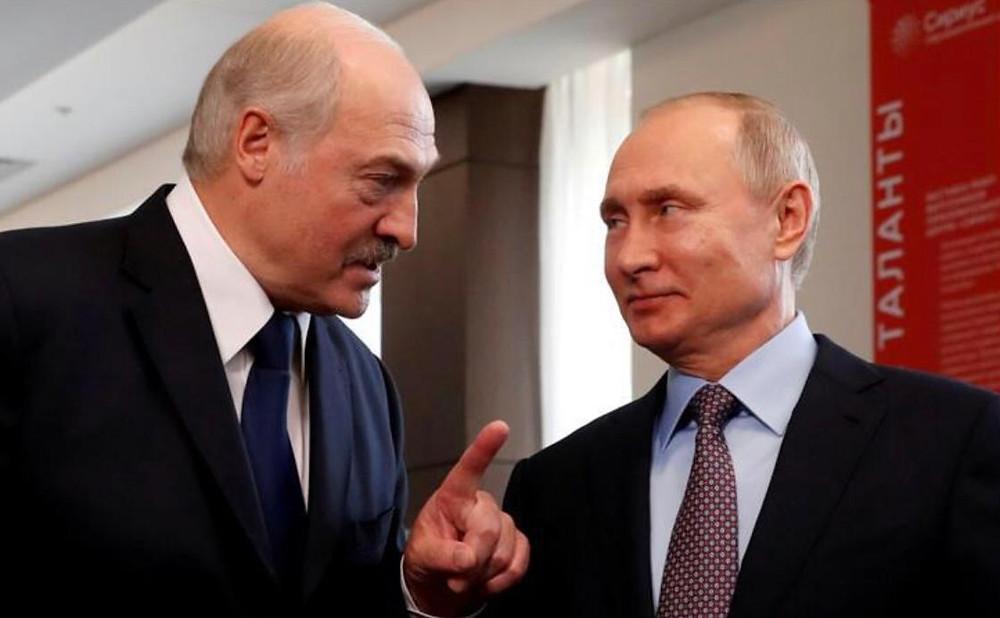 Putin empresta US$1,5 bilhão a Lukashenko