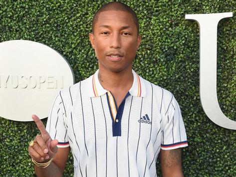 Pharrell Williams cria marca no mercado da beleza