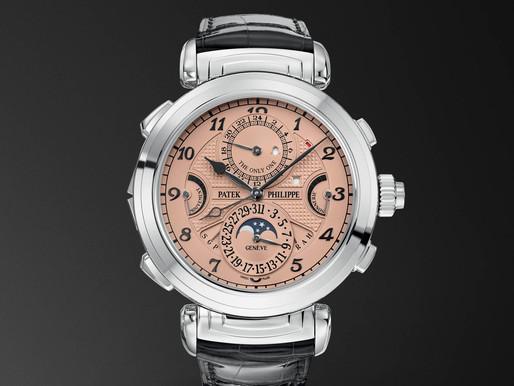 Um relógio da Patek Philippe quebrou o recorde sendo vendido por US$ 31 milhões