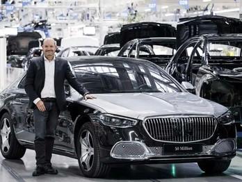 Mercedes-Benz comemora 50 milhões de veículos