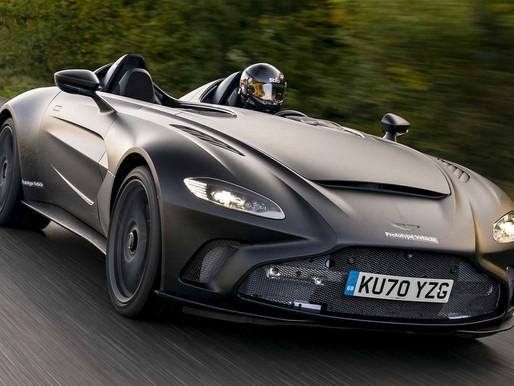 Aston Martin testa o V12 Speedster e exibe fotos