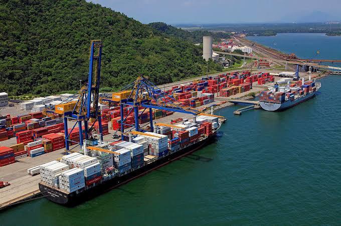 Porto de Itaguaí Brasil