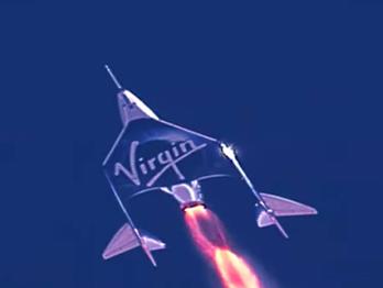 1º bilionário a chegar ao espaço em sua própria nave