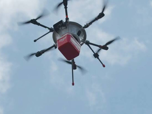 Iniciam-se os testes com drone da iFood