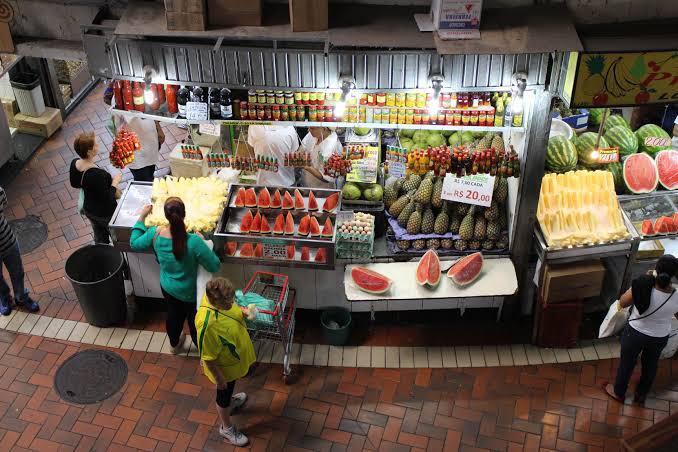mercado central frutas