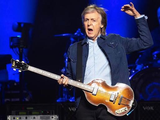 Paul McCartney anuncia novo álbum