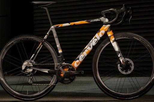 Bicicleta inspirada na Aventador SVJ