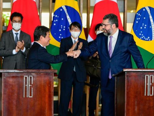 Brasil e Japão assinam acordo de cooperação