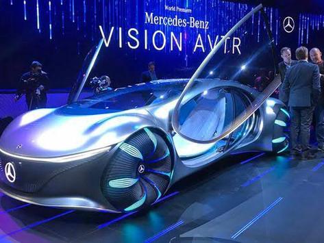 Carro conceito da Mercedes é controlado pela mente