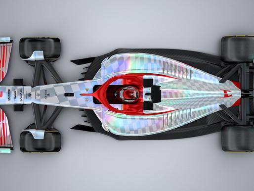 F1 apresenta carro-conceito para 2022