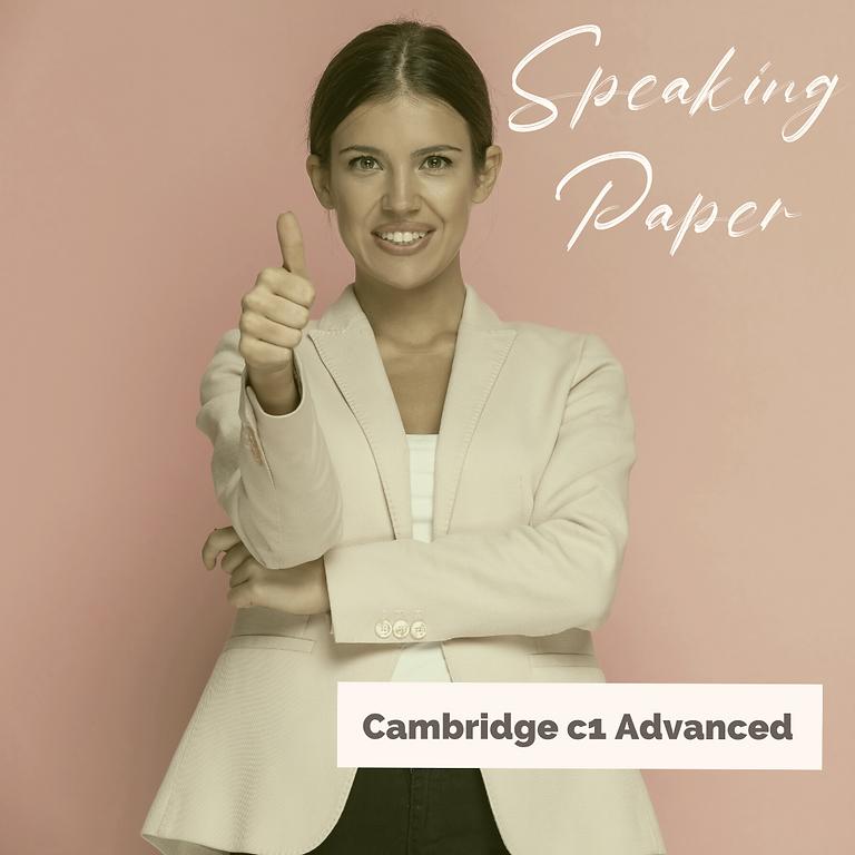Cambridge C1 Speaking Workshop