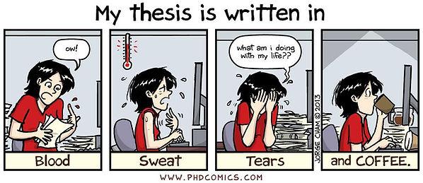 thesis fun