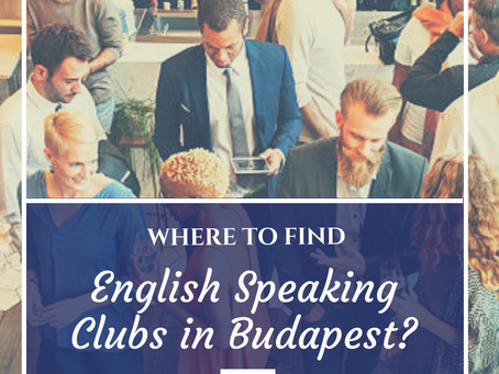 English speaking programs in Budapest? But where?
